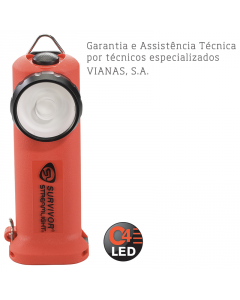 LANTERNA SURVIVOR LED ATEX S/ CARREGADOR