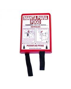 MANTA APAGA-FOGOS EM FIBRA DE VIDRO 100X100CM