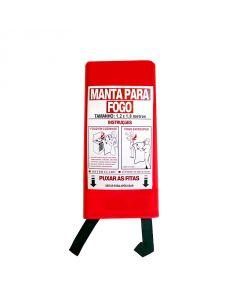 MANTA APAGA-FOGOS EM FIBRA DE VIDRO 180X120CM